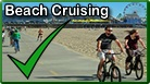 Electric assist beach cruiser bicycles