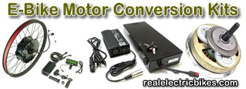 Click here to visit the geared and direct drive e-bike motor conversion kits page