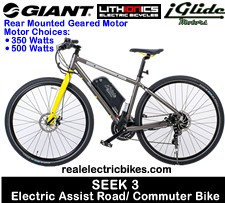 Advanced Ezee 48 Volt 1000 Watt Rear Wheel Electric Assist
