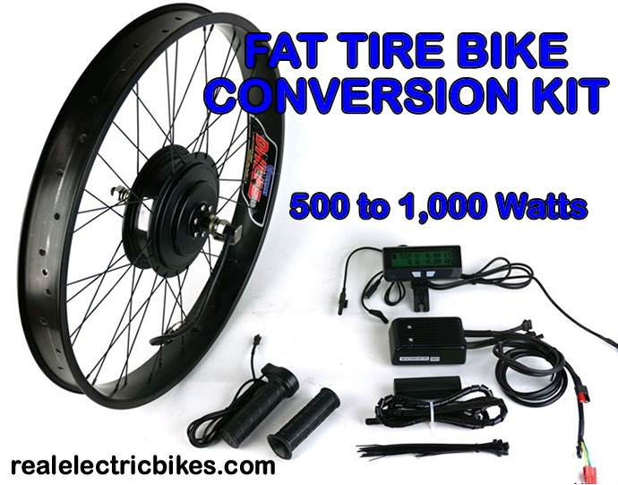 Advanced ezee 48 volt 1000 watt front wheel electric for Motor assisted bicycle kit