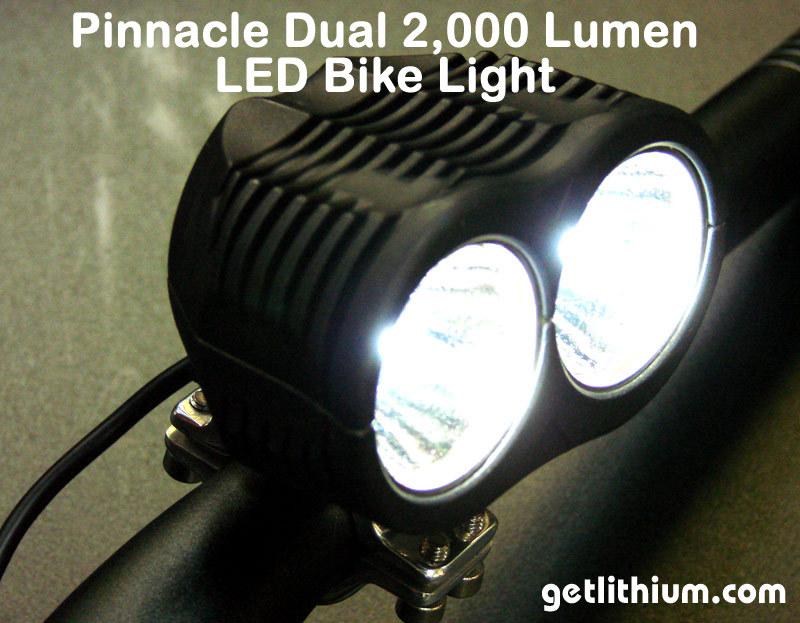 2000 Lumens Led E Bike Lights Amp Parts For Electric Assist